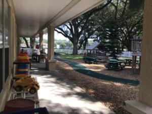 Playground porch