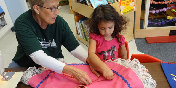 Our teachers help students experience a variety of creative programs