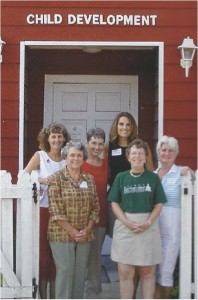 Teachers at the old schoolhouse
